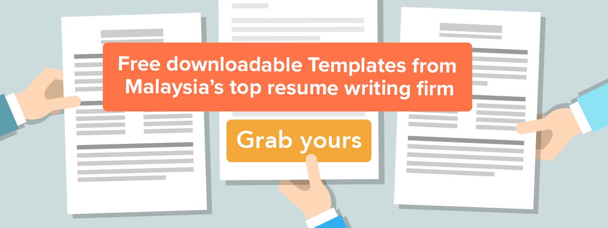 Downloadable Malaysia resume samples and template